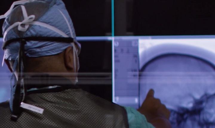 doctor reading a cancer diagnosis